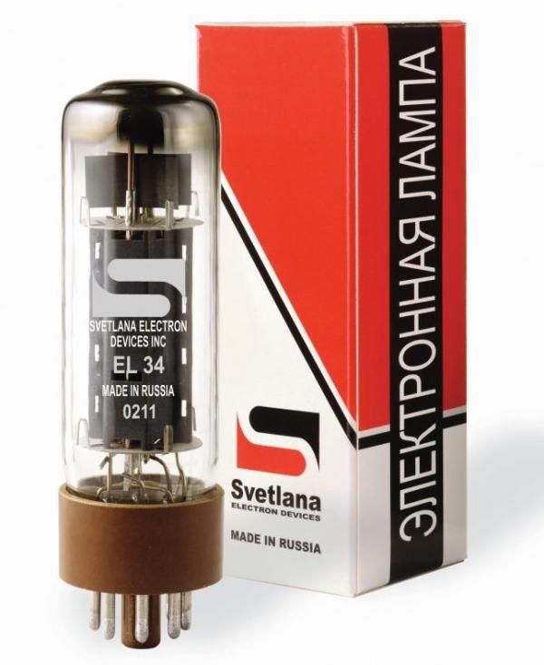 EL34 Svetlana S para, Platinum Matched