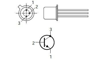 Tranzystor BC108C