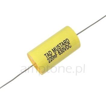 Kondensator TAD Mustard 220nF 630V