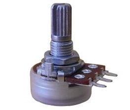Alpha 500k/A logarytmiczny (10mm)
