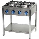 kuchnia gazowa, 4-palnikowa, 900 mm, 24.0 kW, G20