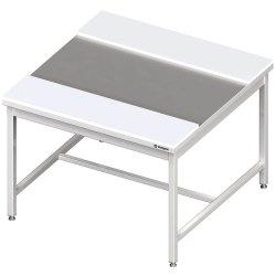 stół centralny z płytami polietylenowymi 1800x1400x850 mm spawany