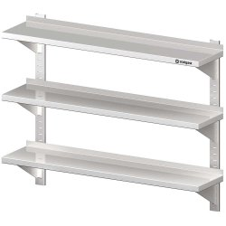 Półka wisząca, przestawna,potrójna 1200x400x930 mm