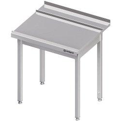 Stół wyładowczy(P), bez półki do zmywarki STALGAST 1200x750x880 mm spawany