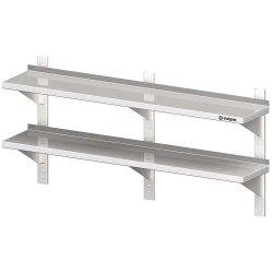 Półka wisząca, przestawna,podwójna 1400x400x660 mm