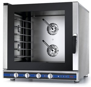 Piec konwekcyjno-parowy PF7706 | Galilei Plus | 7xGN1/1 | sonda | manualny | 10,5kW