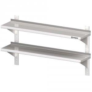 Półka wisząca, przestawna,podwójna 800x300x660 mm