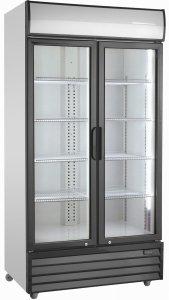 Szafa chłodnicza przeszklona   879 l   SD1002HE  (RQ1100H)