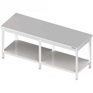 Stół centralny z półką 2000x700x850 mm spawany