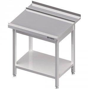 Stół wyładowczy(P), z półką do zmywarki STALGAST 1400x750x880 mm spawany