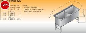 Basen 2-komorowy lo 402 - 1480x700 g500