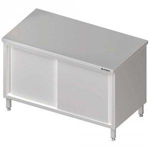 Stół centralny,przelotowy z drzwiami suwanymii 1500x600x850 mm