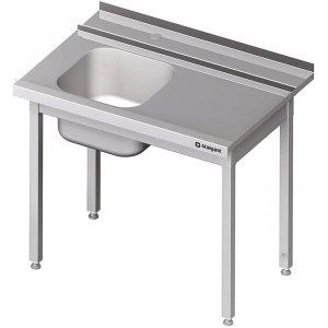 Stół załadowczy(P) 1-kom. bez półki do zmywarki STALGAST 1300x750x880 mm spawany