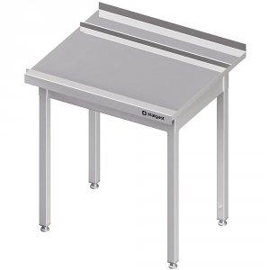 Stół wyładowczy(P), bez półki do zmywarki STALGAST 1100x750x880 mm skręcany