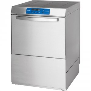 zmywarko wyparzarka, uniwersalna, Power Digital, dozownik płynu myjącego, pompa zrzutowa, pompa wspomagająca płukanie, P 6.65 kW, U 400 V