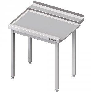 Stół wyładowczy(L), bez półki do zmywarki STALGAST 1300x750x880 mm spawany