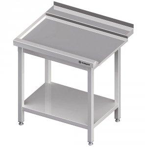 Stół wyładowczy(L), z półką do zmywarki STALGAST 1300x750x880 mm spawany