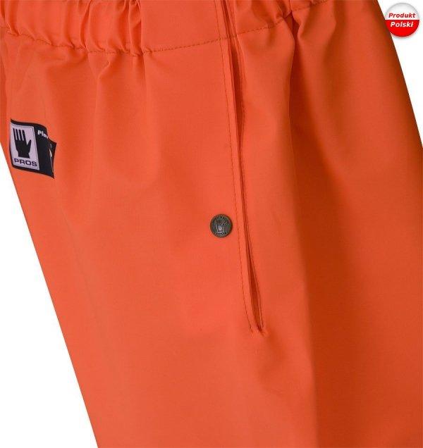 Spodnie do pasa ostrzegawcze PROS model 401R