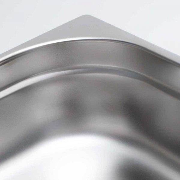 pojemnik stalowy, GN 2/4, H 100 mm