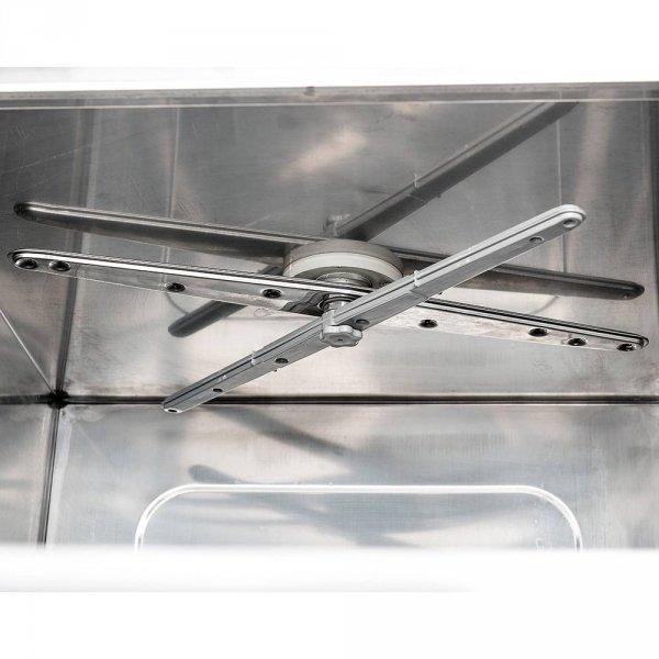 Zmywarko wyparzarka, uniwersalna, dozownik płynu myjącego, pompa zrzutowa, P 4.9/3.4 kW, U 400/230 V