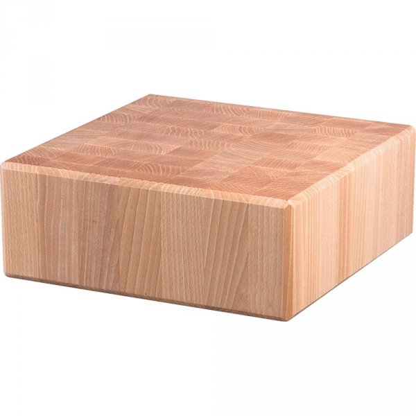 kloc masarski, drewniany, 400x400x150 mm