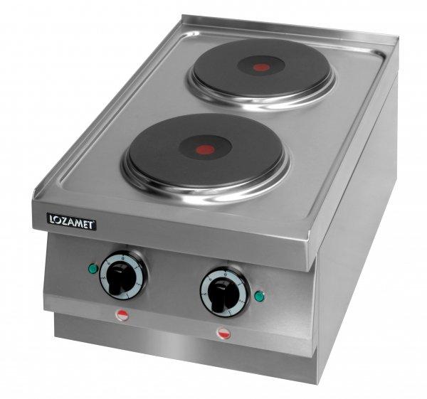Kuchnia elektryczna 2 płytowa (płyty okrągłe) leh.200 Lozamet