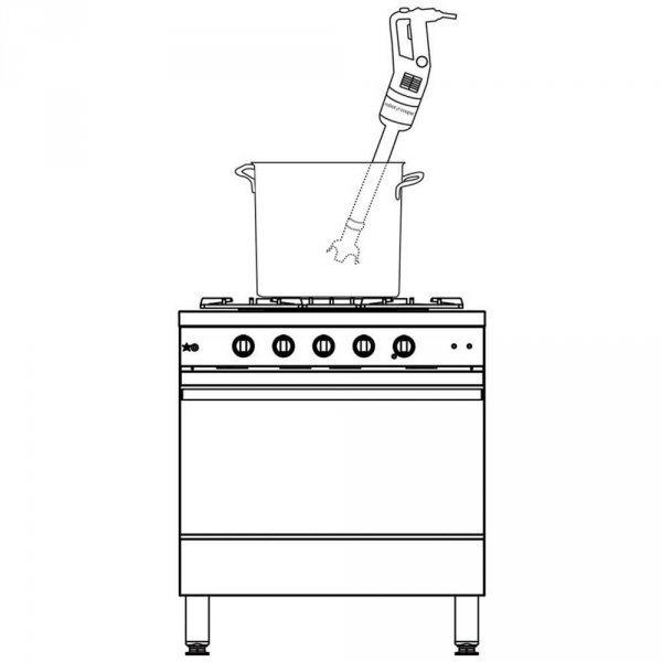 mikser ręczny, MP 450 V.V., P 0.5 kW, U 230 V