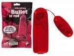 Wibrujące jajeczko Bullet in Red