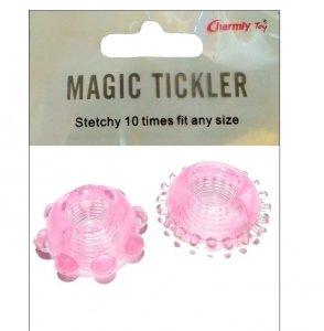 Magic Tickler 2x erekcyjny ring na penisa