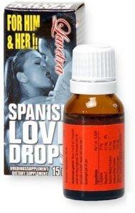 LOVE DROPS SPANISH FLY krople miłości Afrodyzjak 15ml