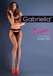 Rajstopy Gabriella Erotica Strip Panty roz. 3/4