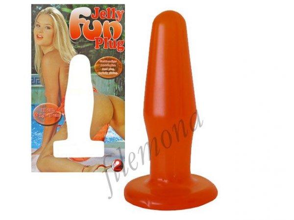 Jelly Fun Plug Orange wtyczka analna
