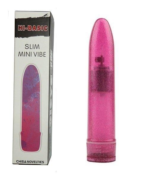 HI-BASIC Slim Mini Vibe klasyczny różowy wibrator