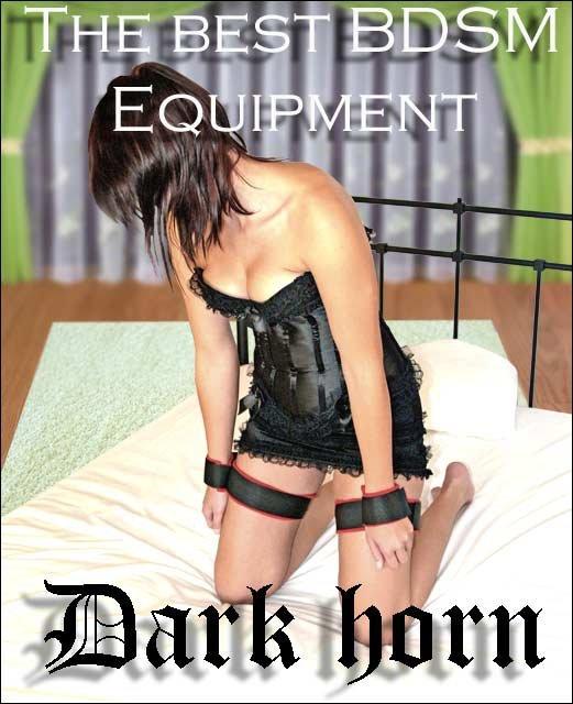Dark Horn Trapbul zestaw do krępowania rąk z udami