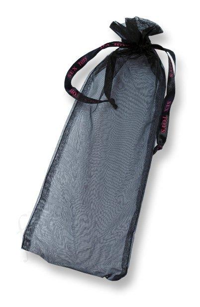 Strap-on Ultra Sensual - proteza penisa z wibratorem, języczkami i waginą