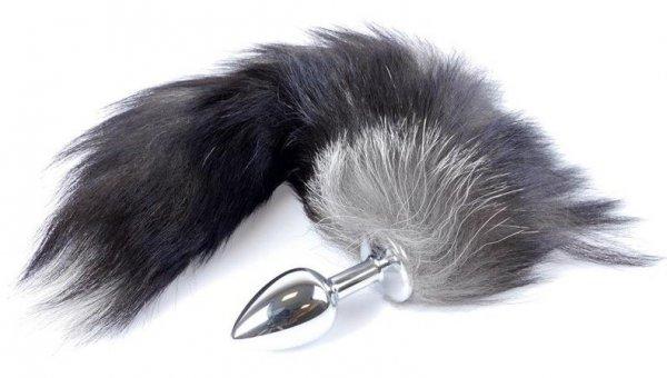 Fox Silver Plug wtyczka analna z lisim ogonem