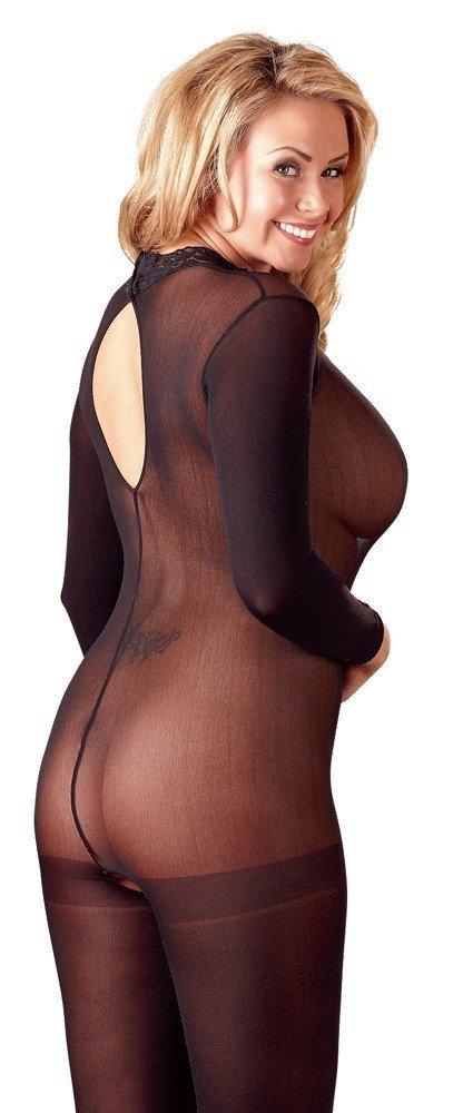Bodystocking Catsuit Spitzen Mit Catsuit tył