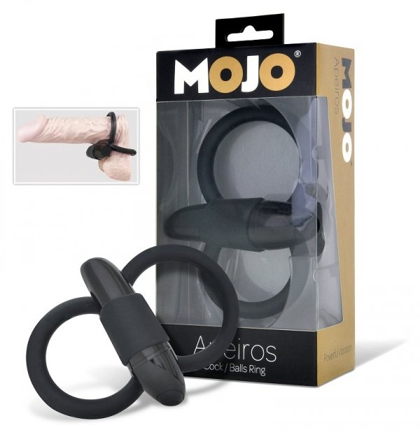 MOJO Apeiros podwójny ring erekcyjny z wibratorem