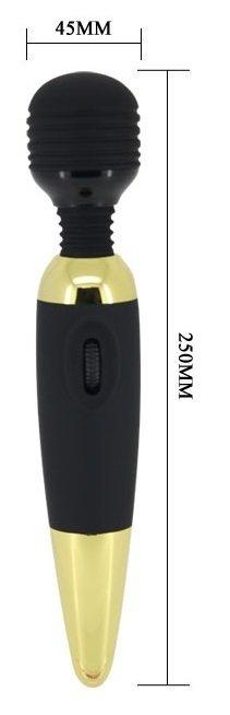 Power Wand Gold wibrator mikrofon wymiary