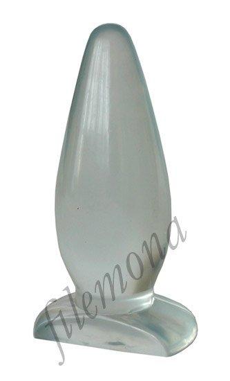 Crystal Clear klasyczna wtyczka analna