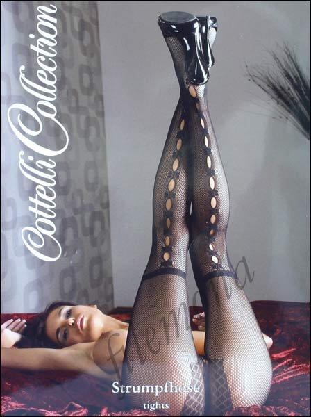Czarne seksowne rajstopy Sex-Strumpfhose S/M