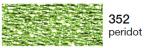 mulina Madeira Metalic perle 10 -peridot 352