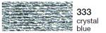 mulina Madeira Metalic perle 10 -crystal blue 333