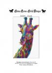 wzór do haftu M2205 - Żyrafa