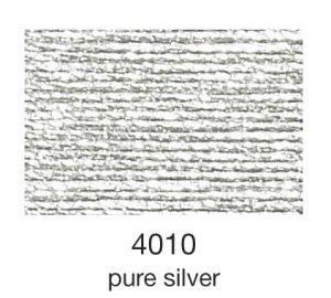 mulina Madeira Metallic 4-pure silver 4010