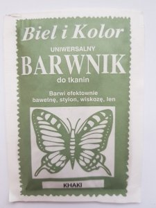 Barwnik - Biel i Kolor - khaki