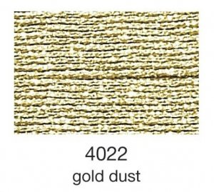 mulina Madeira Metallic 4-gold dust 4022
