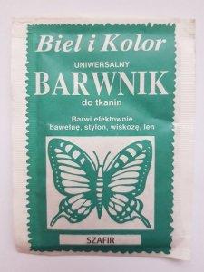 Barwnik - Biel i Kolor - szafir