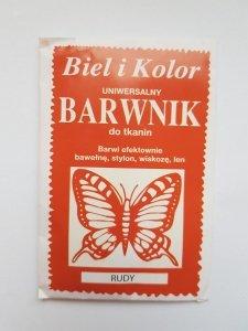 Barwnik - Biel i Kolor - rudy