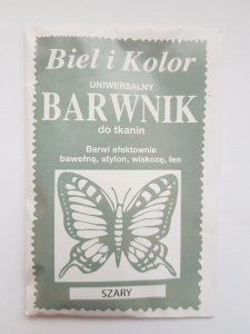 Barwnik - Biel i Kolor - szary